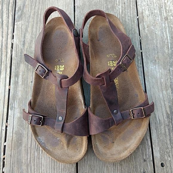 a668c3dc6ebb Birkenstock Shoes - Birkenstock Larisa Sandals Size 39 Brown